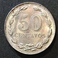 Picture of Аргентина 1941 г. • KM# 39 • 50 сентаво • (год - тип) • регулярный выпуск • MS BU