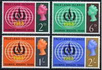 Изображение Фолклендские о-ва 1968г. Gb# 228-31  • Год защиты прав человека XF • полн. серия