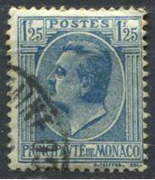 Bild von Монако  1924-33 гг.  SC# 84  • 1.25 fr. Князь Луи II •  Used VF