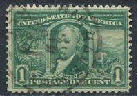 "Picture of США 1904г. SC# 323  • выпуск ""Выставка в Луизиане""  1 c. •  Used XF ( кат.- $5 )"