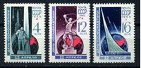 Изображение СССР 1965 г. Сол# 3186-8 • День космонавтики • MNH OG XF • полн. серия