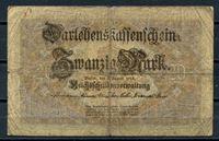 Bild von Германия  1914г.  P# 48 • 20 марок •  регулярный выпуск • VG
