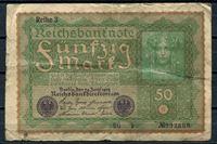 Bild von Германия  1919г.  P# 66 • 50 марок •  регулярный выпуск • VG+