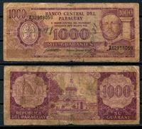 Изображение Парагвай 1982 г. P# 207 • 1000 гуарани • регулярный выпуск • VG+