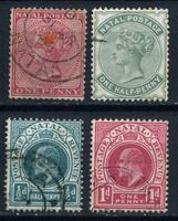 Изображение Натал • 1-я половина XX века • 9 старинных марок • стандарт • Used VF