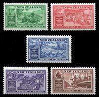 Изображение Новая Зеландия 1936 г. Gb# 593-7 • Конгресс Промышленных палат Содружества • MNH OG XF
