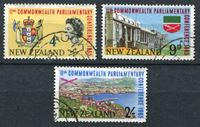 Picture of Новая Зеландия 1965г. SC# 375-7  • 11-я конференция парламентов стран Содружества •  Used XF / полн. серия ( кат.- $6,25 )
