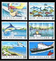 Bild von Новая Зеландия 1989 г. SC# 964-9 • Жизнь страны • MNH OG XF • полн. серия ( кат.- $8 )