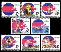 Bild von Новая Зеландия 1989 г. SC# 970-7 • 14-е игры стран содружества • MNH OG XF • полн. серия ( кат.- $10 )