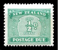 Bild von Новая Зеландия 1939 г. SC# J22 • 1/2d. • служебный выпуск • MLH OG XF ( кат.- $6 )