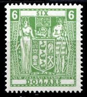 Image de Новая Зеландия 1967 г. SC# AR103 • 6$. для фискальных целей • служебный выпуск • MLH OG XF ( кат.- $9 )