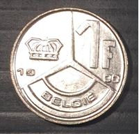 Image de Бельгия 1990г.  KM# 171 • 1 франк • регулярный выпуск • MS BU