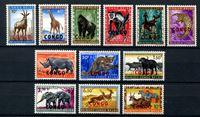 Image de Демократическая Республика Конго 1960 г. SC# 341-52 • Фауна Африки • MNH OG XF • полн. серия