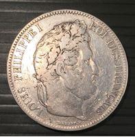 Bild von Франция 1832 г. * Лиль • KM# 749.13 • 5 франков • Людовик XIII (серебро) • регулярный выпуск • XF-