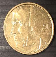 Image de Бельгия 1986г. KM# 164 • 5 франков • регулярный выпуск • BU