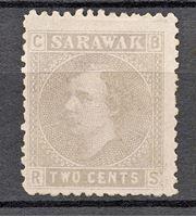 Image de 1875 г. Gb# 3 • Сэр Чарльз Брук • Mint NG F-VF ( кат.- £22 )