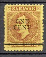 Изображение 1899 г. Gb# 27 • Сэр Чарльз Брук • Mint NG F-VF ( кат.- £1,5 )