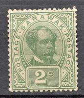Изображение 1899-1908 гг. Gb# 37 • Сэр Чарльз Брук • MH OG VG+ ( кат.- £2 )