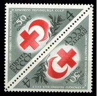 Изображение СССР 1973 г. Сол# 4224 • Красный крест • MNH OG XF • тет-беш пара