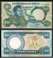 Изображение Нигерия 2003 г. P# 26 • 20 найра • регулярный выпуск • AU+