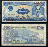 Image de Вьетнам 1991 г. (1993) P# 108 • 5000 донгов • VF