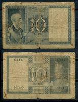 Bild von Италия 1935 г. P# 25 • 10 лир • регулярный выпуск • VG