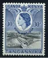 Image de Кения, Уганда и Танганьика 1954 г. Gb# 166 • 30 c. Королевский визит. • MLH OG XF