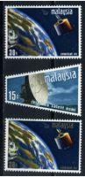 Image de Малайзия 1970 г. Gb# 61-3 • Космическая связь • MLH OG XF • полн. серия ( кат.- £4 )