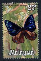 Image de Малайзия 1970г. Gb# 64 • 25c. бабочки • MLH OG XF ( кат.- £1 )