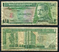 Изображение Гватемала 1992 г. P# 80 • 1 кетсаль • регулярный выпуск • F