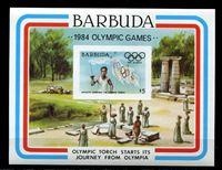 Bild von Барбуда 1984 г. SC# 635 • Олимпиада-84,  Лос-Анджелес. (б.з.) • MNH OG XF • блок ( кат.- $6 )