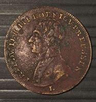 Picture of Германия 1888 г. • Император Фридрих III, коронационный жетон • XF-