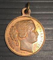 Picture of Франция середина XIX века • Императрица Евгения • медаль • MS BU