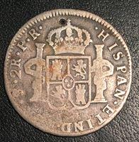 Bild von Боливия 1779 г. PTS PR • KM# 53 • 2 реала • регулярный выпуск • F-