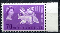Изображение Сейшелы 1963г. GB# 213 • За свободу от голода • MNH OG XF+