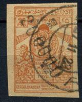 Изображение Азербайджан 1922 г. Сол# 38 • надпечатка 200 тыс. руб.  на 25 руб. • Used VF
