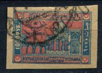 Изображение Азербайджан 1922 г. • двойная надпечатка 8 тыс. руб.  на 1000 руб. • Used VF