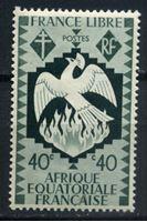 Изображение Французская Экваториальная Африка 1941 г. Iv# 145 • 40c.. Свободу Франции • MH OG VF ( кат.- €0,6 )