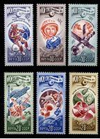 Bild von СССР 1977 г. Сол# 4752-7 • XX лет космической эры • MNH OG XF • полн. серия