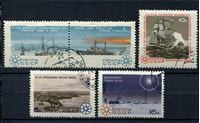 Image de СССР 1965 г. Сол# 3267-71 • Исследование Арктики и Антарктики • Used(ФГ) XF • полн. серия