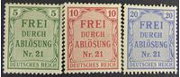 Picture of  1903 г. Mi# 3-5 • Служебные для Пруссии • Mint NG VF ( кат.- €3 )