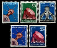 Image de Гаити 1958 г. SC# 424..C121 • Международный геофизический год (космические спутники) • MNH OG XF ( кат.- $5 )