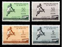 Bild von Гаити 1958 г. SC# C115-8 • 30-летие мирового рекорда по прыжкам в длину • авиапочта • MNH OG XF • полн. серия ( кат.- $4 )