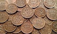Изображение Бельгия 1950 - 1959 гг. • 20 монет - одним лотом. • VF
