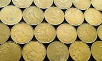 Изображение Бельгия 1986 - 1993 гг. • 5 fr. • 15 монет - одним лотом. • VF