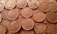 Изображение Великобритания 1971 - 2009 гг. • 15 монет - одним лотом. • VF+