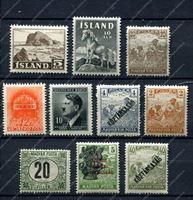 Image de Старинные иностранные марки • 10 разных ** • MNH OG VF • лот № 3