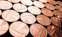 Изображение Великобритания 2008 - 2009 гг. • 1р. • 10 монет - одним лотом. • VF+