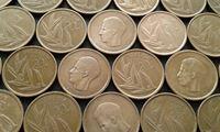 Изображение Бельгия 1980 - 1993 гг. • 20fr. • 12 монет - одним лотом. • VF-