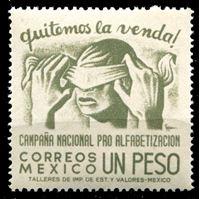 Image de Мексика 1945 г. SC# 809 • 1 p. • Кампания за грамотность населения • MNH OG XF